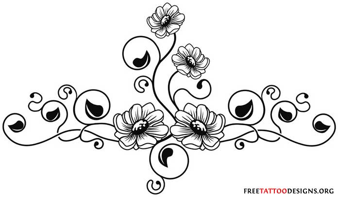 Rose And Daisy Tattoo Stencil: 20+ Daisy Tattoo Designs