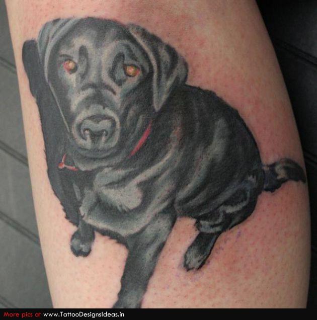 37 nice dog tattoos. Black Bedroom Furniture Sets. Home Design Ideas