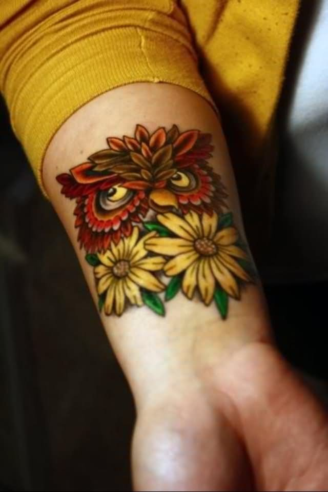 41+ Cool Daisy Tattoos On Wrist