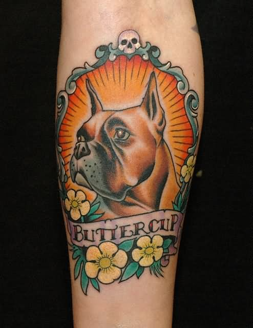 9+ Amazing Dog Tattoos On Forearm