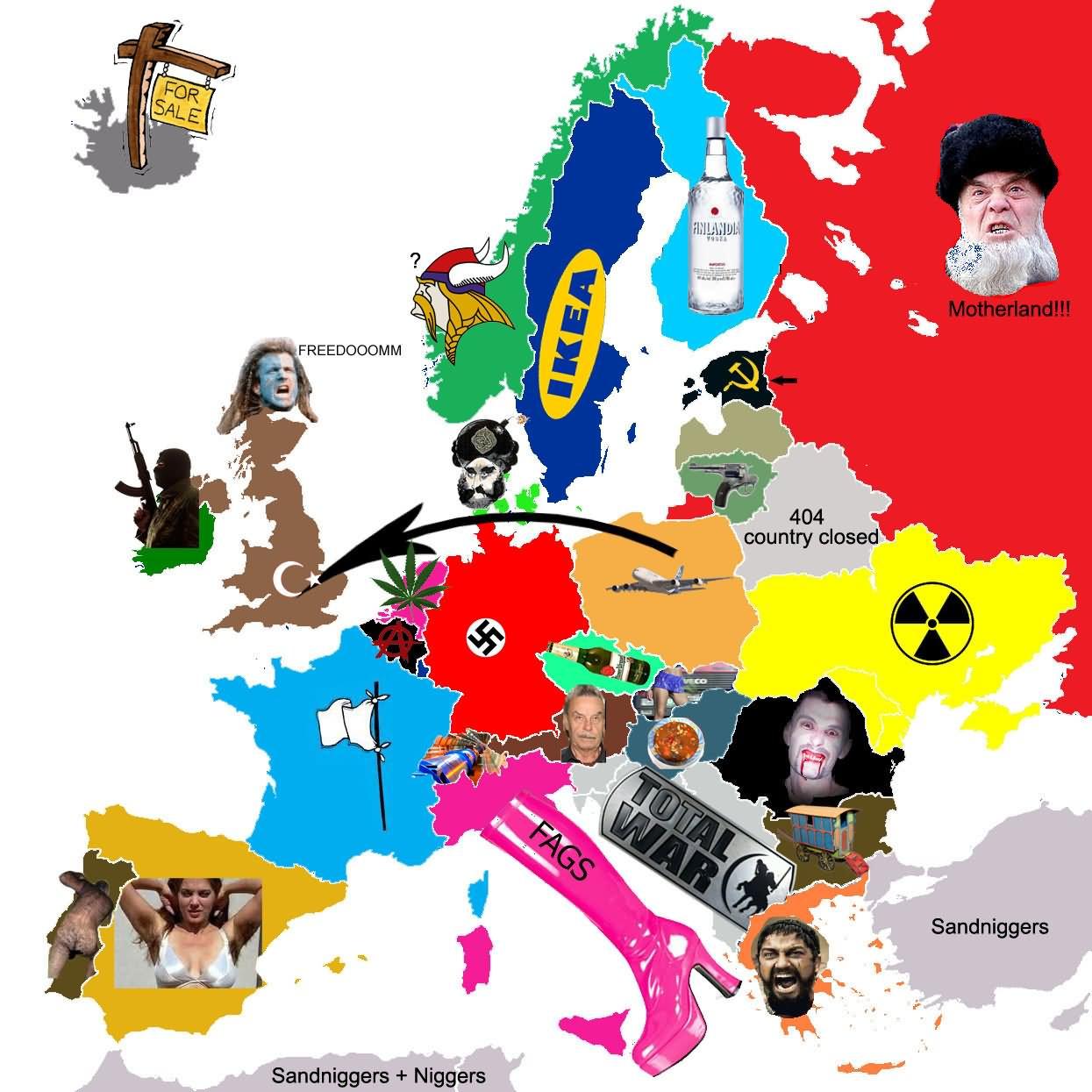 Funny Europe Total War Image