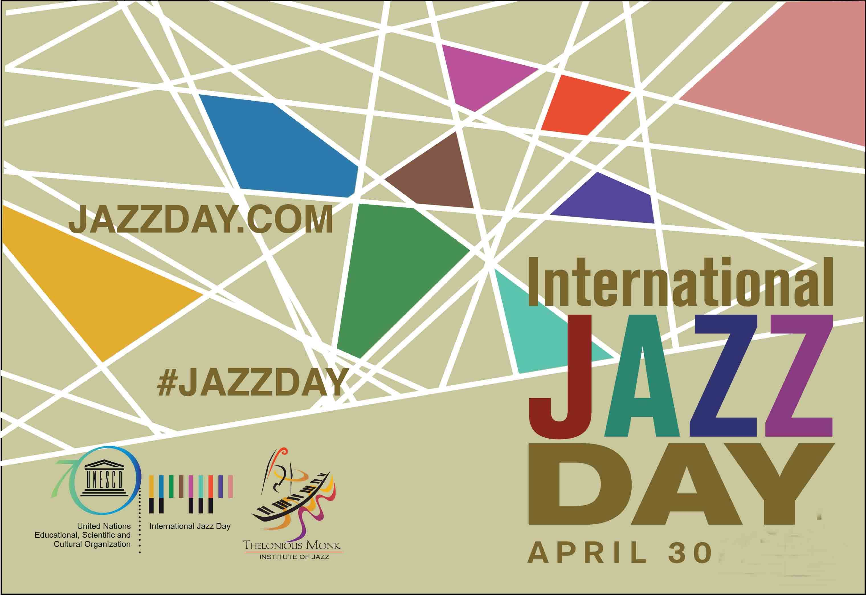 International Jazz Day - 30 April  IMAGES, GIF, ANIMATED GIF, WALLPAPER, STICKER FOR WHATSAPP & FACEBOOK