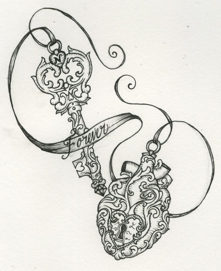 7+ Lock And Key Tattoo Designs And Ideas