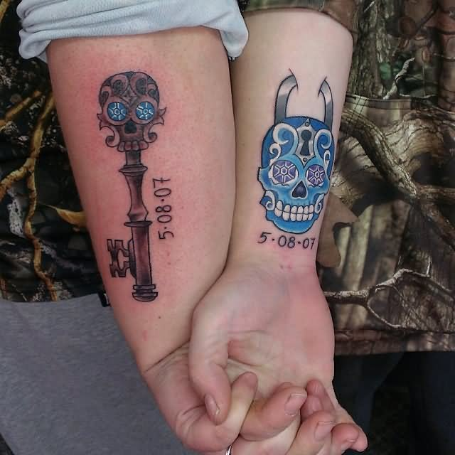 Related Keywords Amp Suggestions For Hand Skull Tattoo Couples