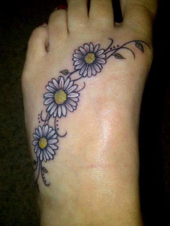 Daisy Tattoos For Men
