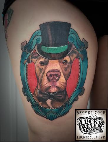 30+ Traditional Dog Tattoos