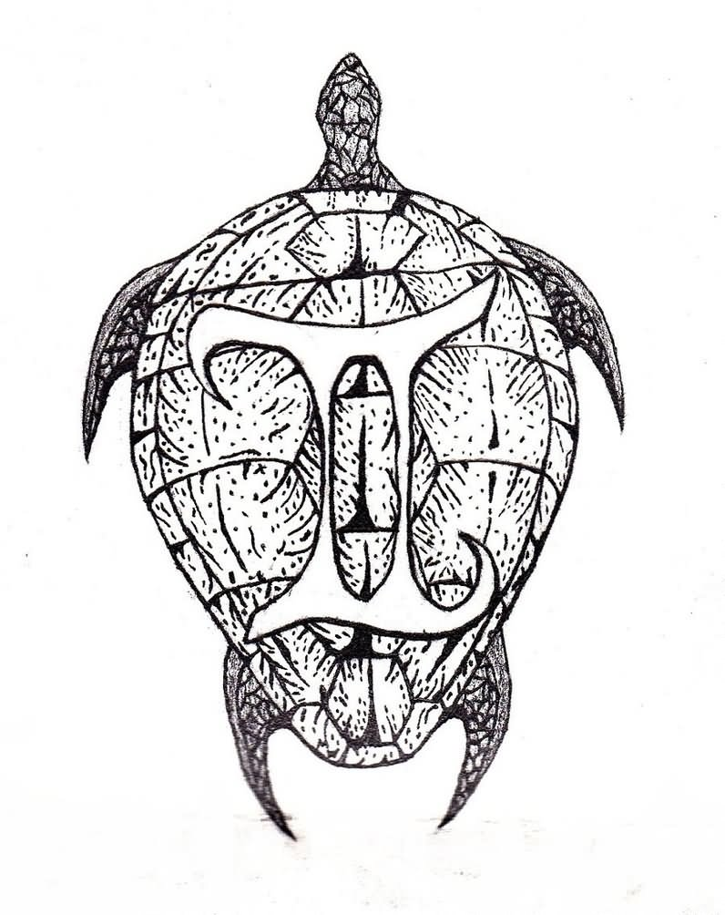 Tribal Gemini Tattoos For Guys: 30+ Latest Gemini Tattoo Designs