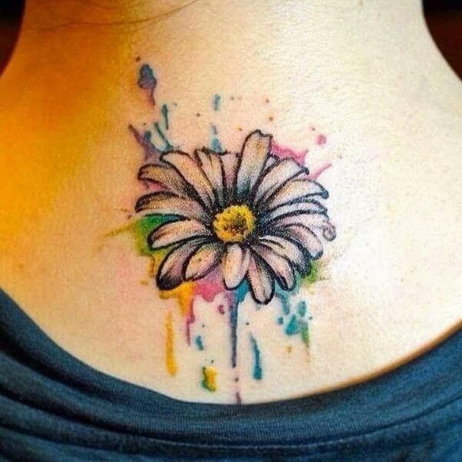 Daisy Tattoo Stencil: 35+ Cute Daisy Tattoos