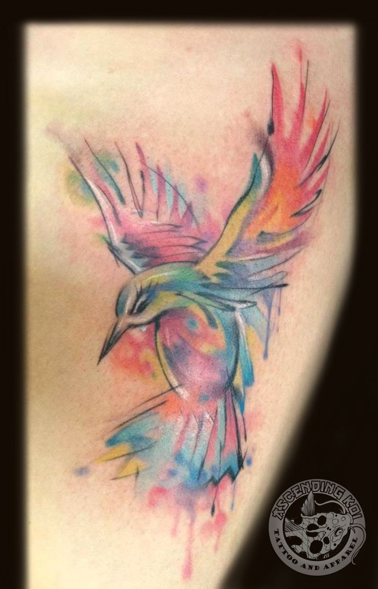 Hummingbird Tattoos Abstract Pictures to Pin on Pinterest ...