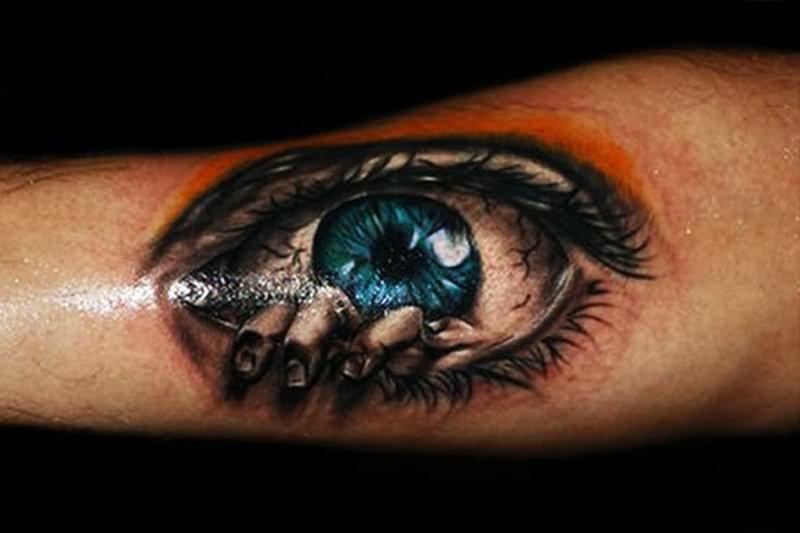 Глаза на тату