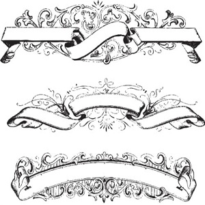 40 scroll ribbon tattoo designs and images. Black Bedroom Furniture Sets. Home Design Ideas
