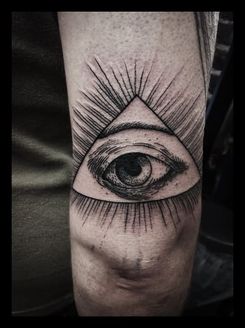 29 inspiring eye tattoos on arm. Black Bedroom Furniture Sets. Home Design Ideas