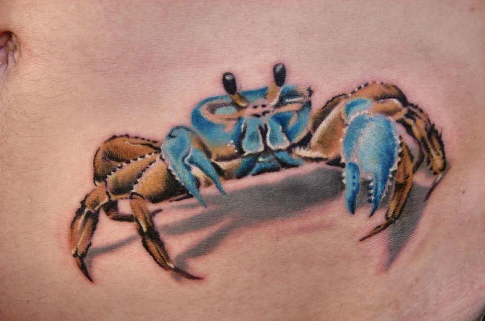 35 Nice Cancer Crab Tattoos