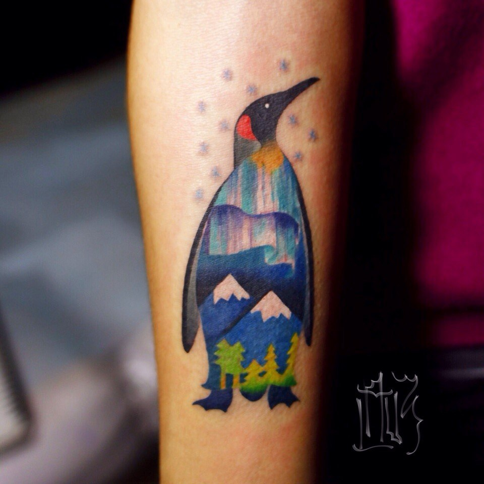 10+ Penguin Tattoo Designs And Ideas