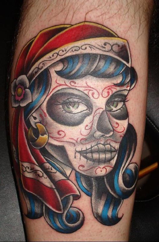 37 dia de los muertos tattoos. Black Bedroom Furniture Sets. Home Design Ideas