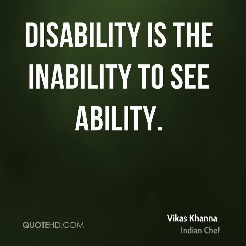 Disability Quotes Prepossessing 64 Top Quotes And Sayings About Disability