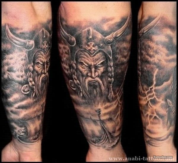 34 awesome viking tattoos for Viking tattoo ideas