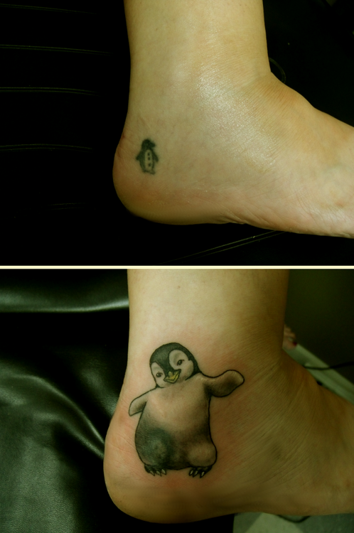 40 Awesome Penguin Tattoos