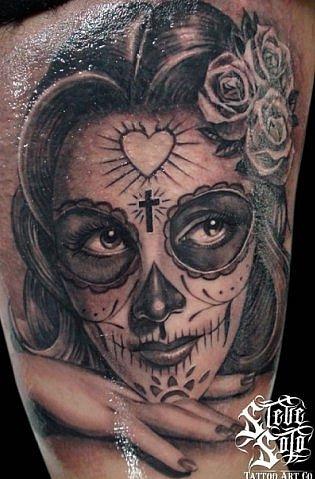 37 Dia De Los Muertos Tattoos