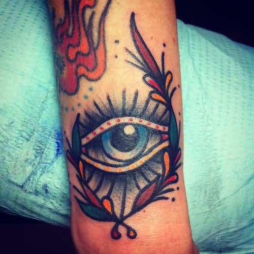 29+ Inspiring Eye Tattoos On Arm