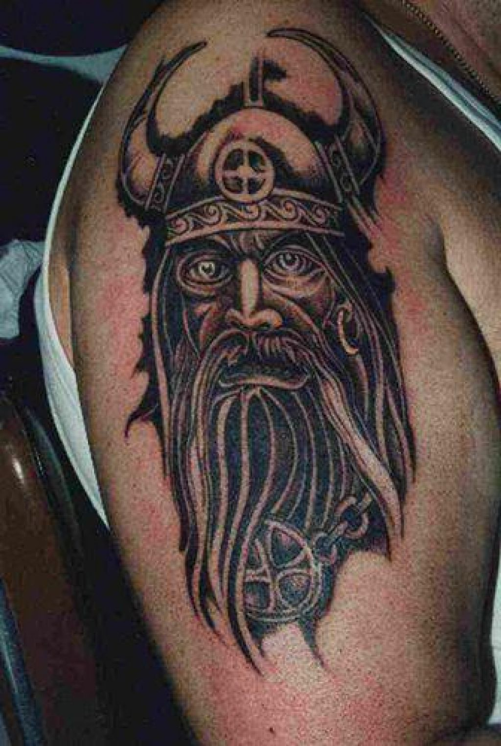 29 Wonderful Viking Tattoos On Half Sleeve