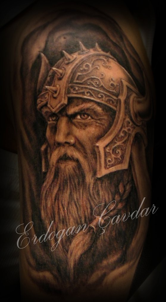 34 awesome viking tattoos