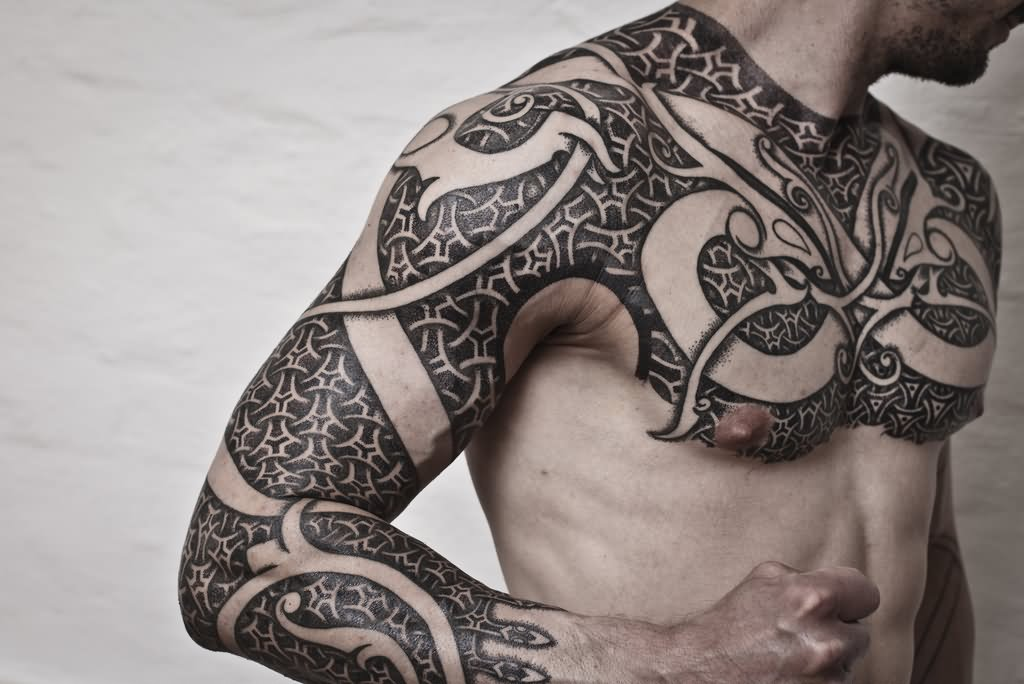 10 traditional viking tattoos. Black Bedroom Furniture Sets. Home Design Ideas
