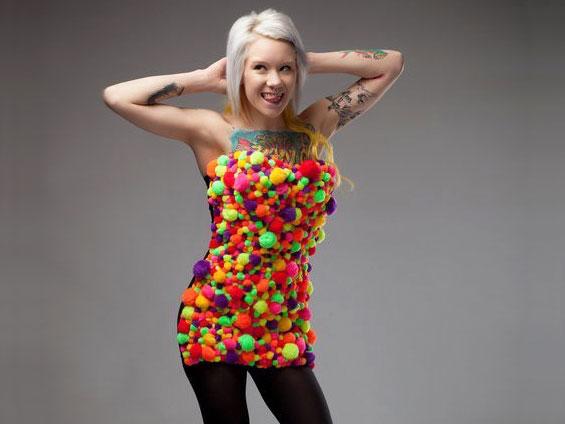 Woman Weird Clothes 4