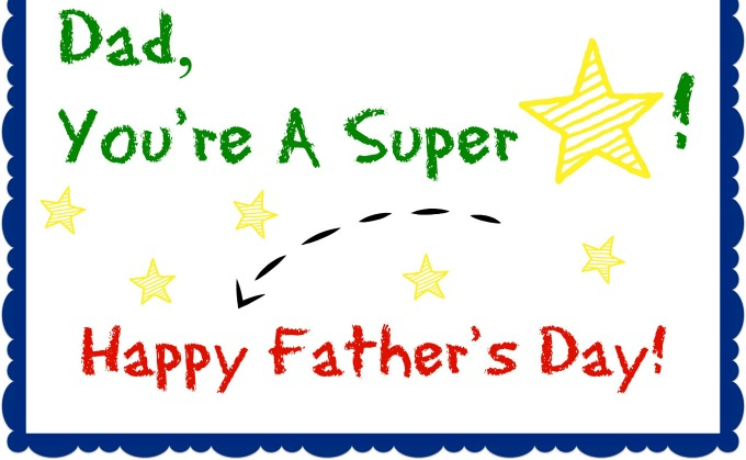 31 beautiful fathers day greeting card pictures and images dad youre a super happy fathers day greeting card m4hsunfo