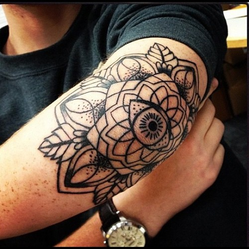 40+ Wonderful Elbow Tattoos