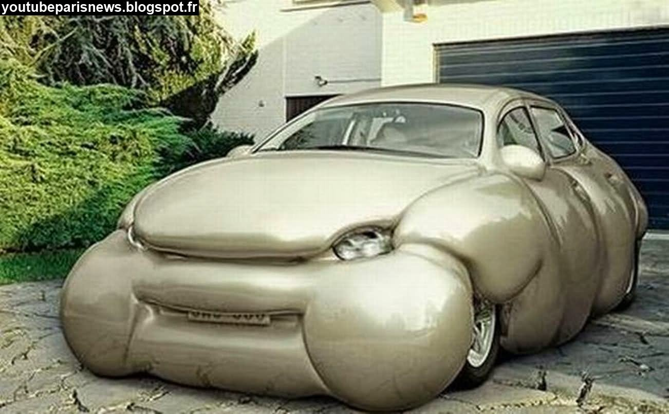 Fat Car Funny Looking Photo