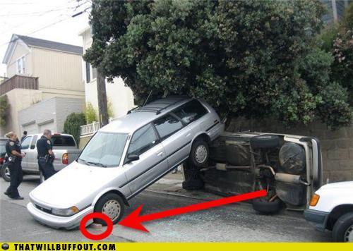 I Laugh At Car Crashes