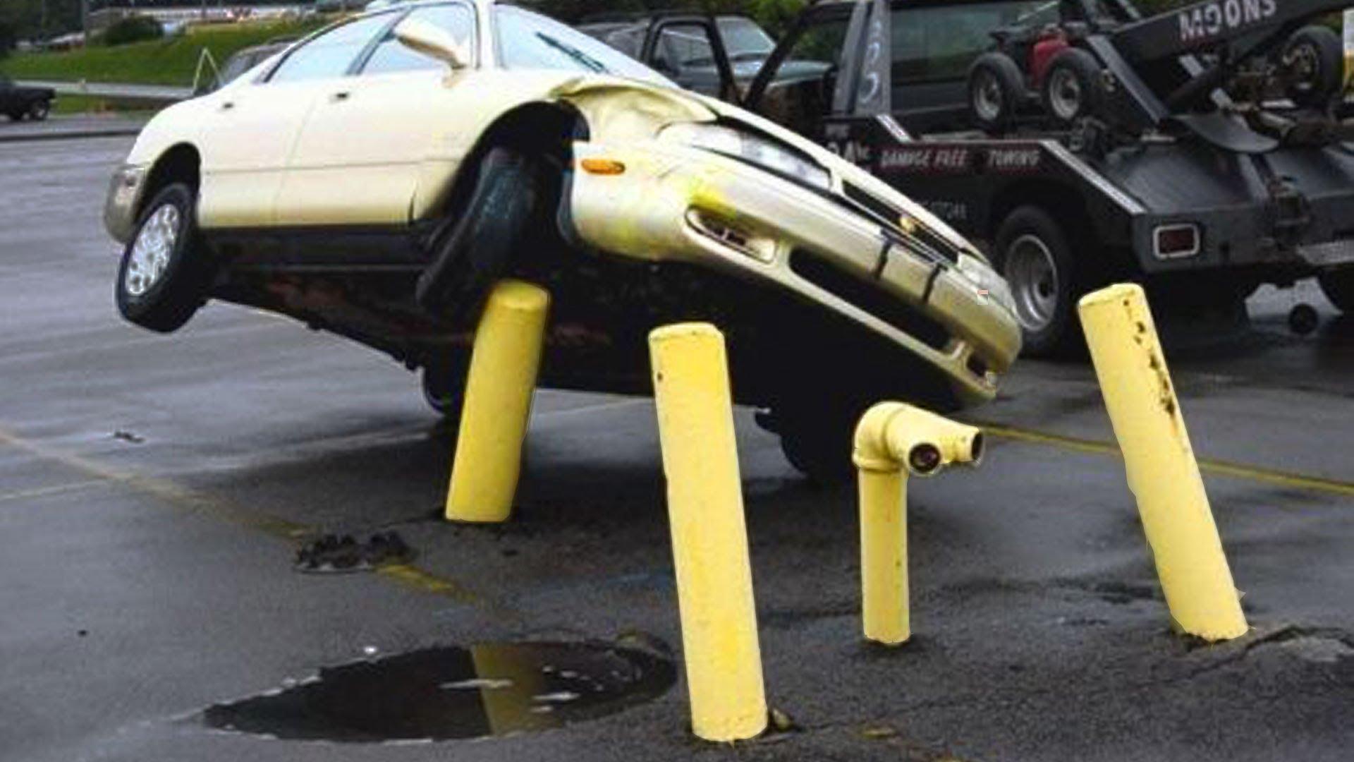 Funny Crash Car Picture