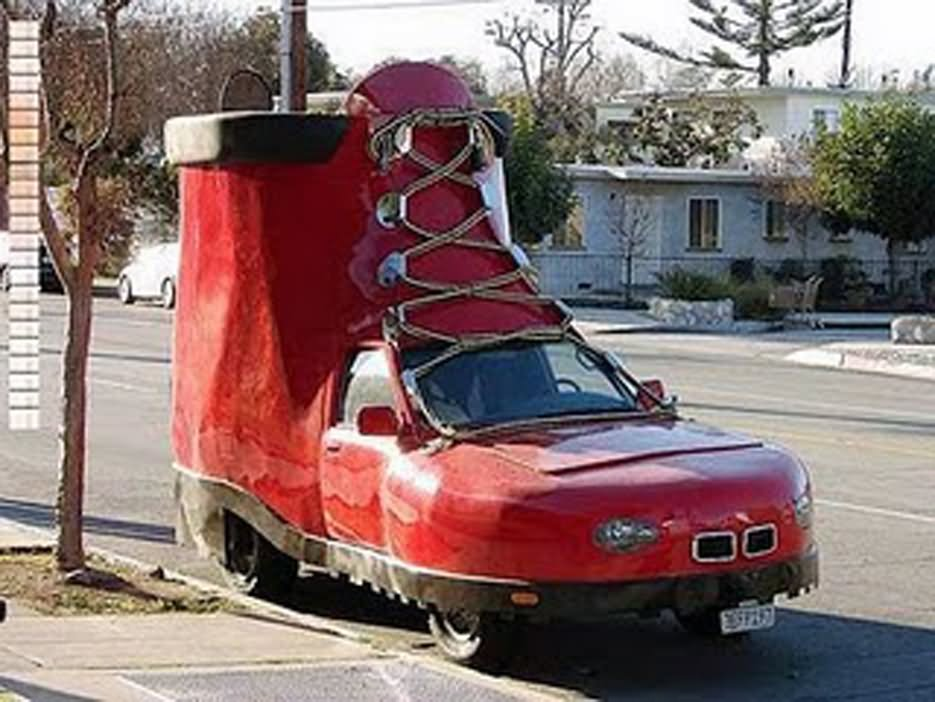 40 Very Funny Looking Car Pictures And Images