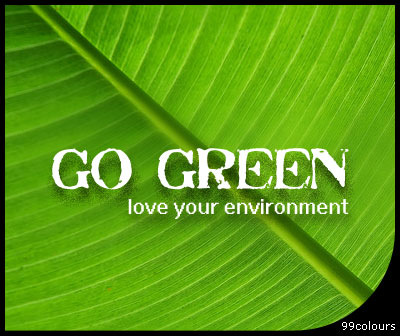 Go Green Love Environment World Day