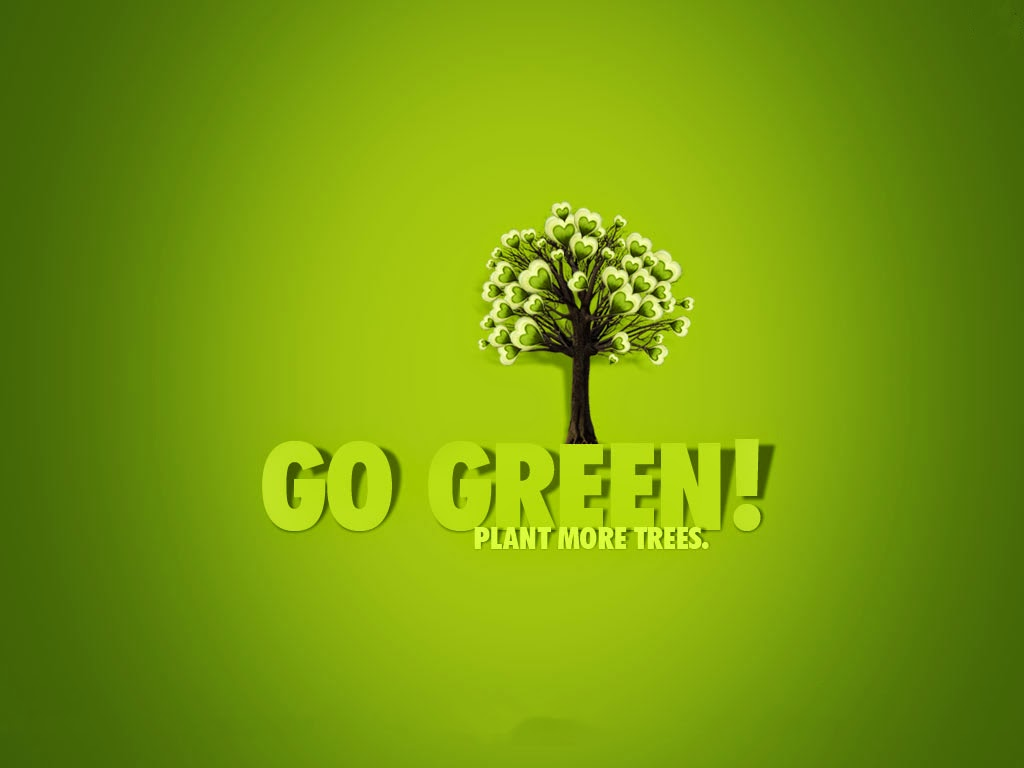 go green plant more trees world environment day