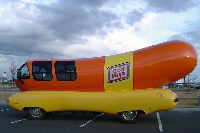 Hotdog Shape Funny Looking Car Image For Whatsapp