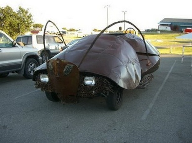 Insect Shape Funny Looking Car Image