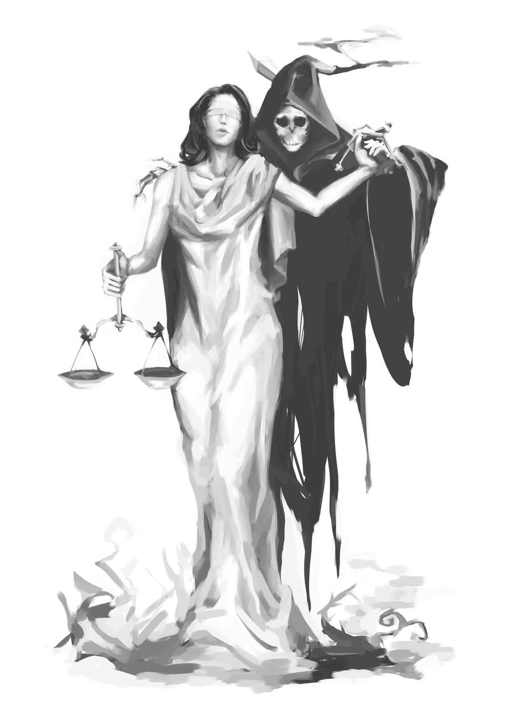 Tattoo Lady Justice: 13+ Justice Tattoos Designs
