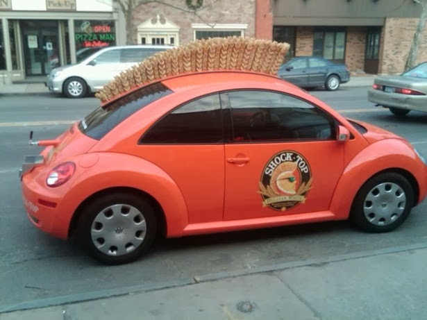 Mohawk Hairstyle Funny Looking Car Image