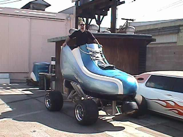 Shoes Shape Funny Looking Car Picture