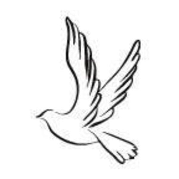 Dove tattoo stencil 13 latest pigeon tattoo designs