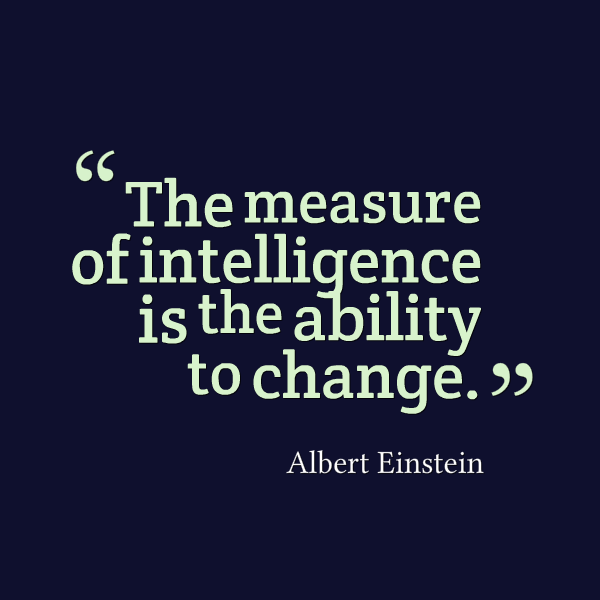 The measure of intelligence