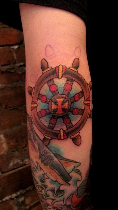 37+ Traditional Elbow Tattoos Ideas