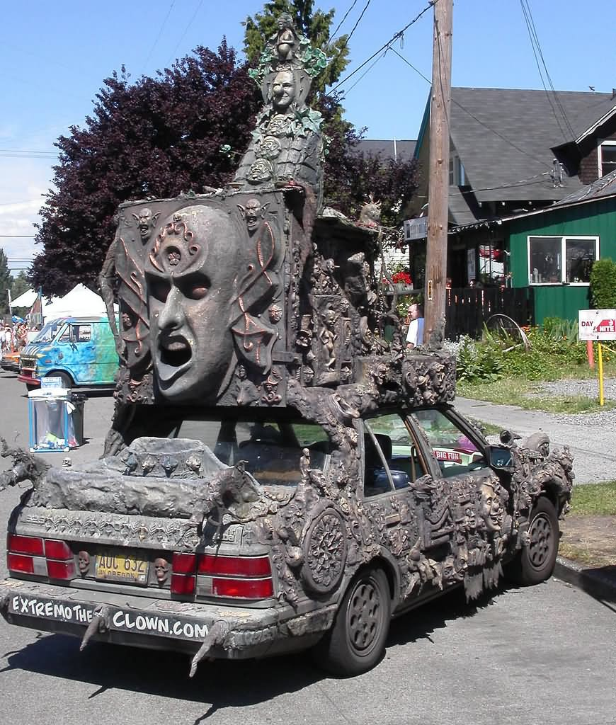 Weird Scary Shape Funny Looking Car Picture