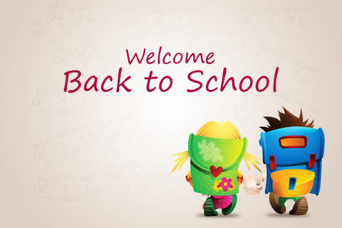 Welcome Back To School 3d Kids Picture