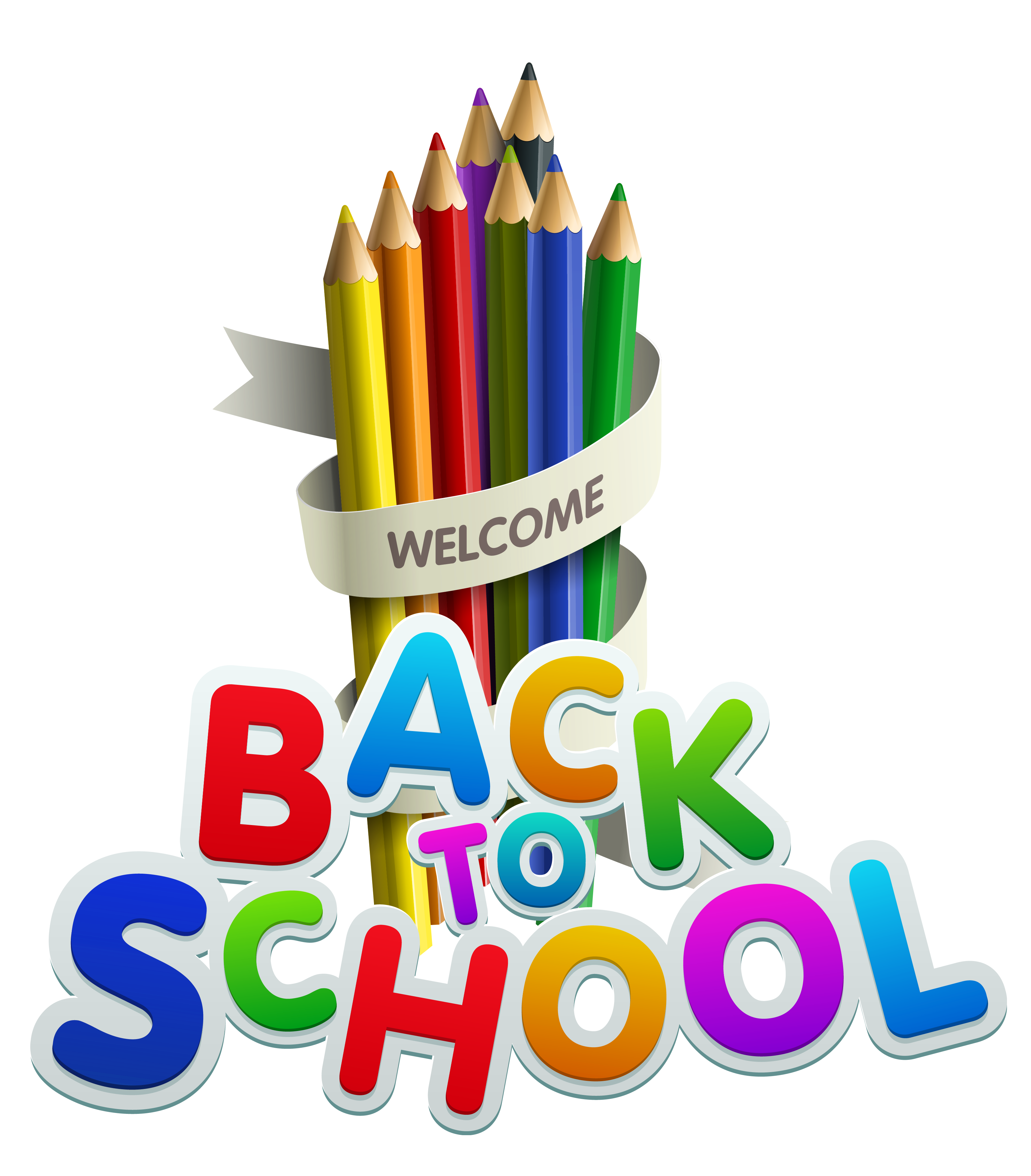 Welcome-Back-To-School-Color-Pencils-Clipart.png (3435×3917)