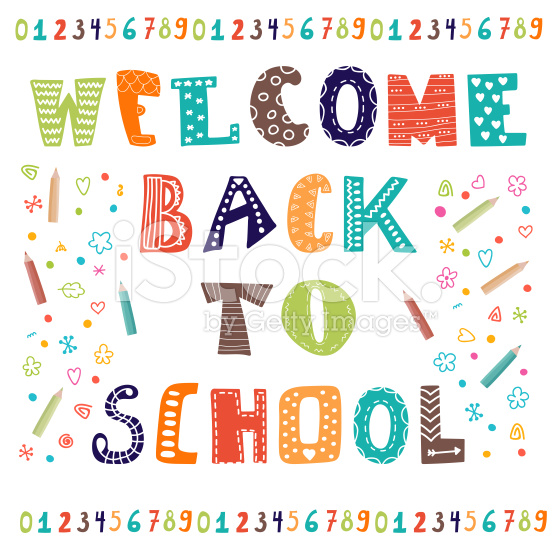 Welcome Back To School Greeting Card