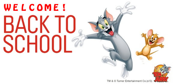 Welcome Back To School Tom And Jerry