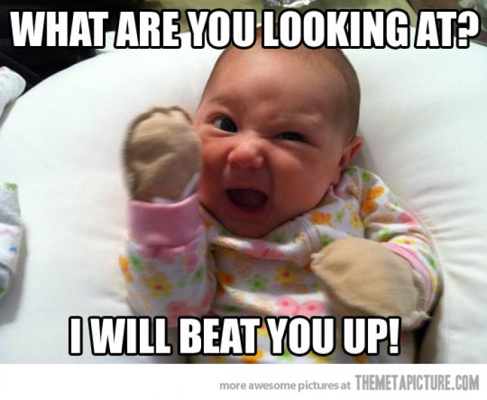Funny Newborn Meme : Very funny baby meme pictures and images